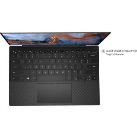 Ultrabook DELL 13.4'' XPS 13 9310, FHD+, Intel Core i7-1165G7, 16GB DDR4X, 512GB SSD, Intel Iris Xe, Win 10 Pro, Platinum Silver
