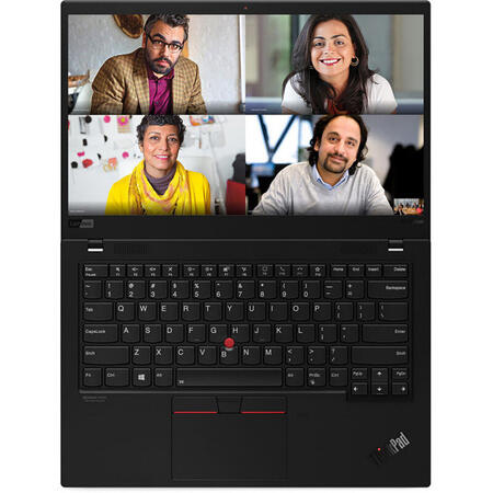 "Laptop ultraportabil Lenovo ThinkPad X1 Carbon cu procesor Intel Core i7-10510U pana la 4.90 GHz, 14"", Full HD, 16GB, 512GB SSD, Intel UHD Graphics, Windows 10 Pro, Black"