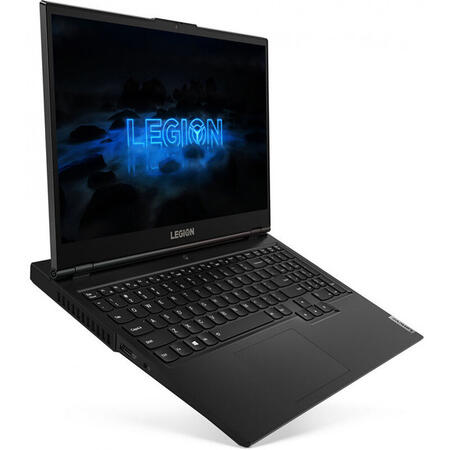 "Laptop Gaming Lenovo Legion 5 15IMH05H cu procesor Intel® Core™ i7-10750H, 15.6"" Full HD, IPS, 16GB, 512GB SSD, NVIDIA® GeForce® RTX 2060 6GB, FreeDOS, Phantom Black"