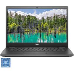 "Laptop ultraportabil Dell Latitude 3410 cu procesor Intel® Celeron™ 5205U 1.90 GHz, 14"", Full HD, 4GB, 128GB SSD, Intel UHD Graphics, Ubuntu, Grey"