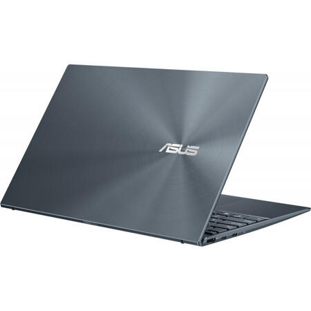 Ultrabook ASUS 14'' ZenBook 14 UX425EA, FHD, Intel Core i7-1165G7, 16GB DDR4X, 512GB SSD, Intel Iris Xe, No OS, Pine Grey