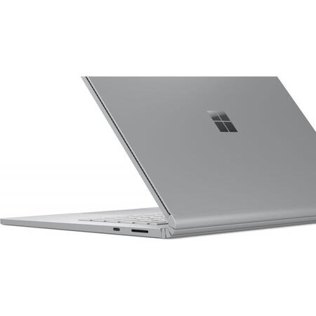 Ultrabook Microsoft 13.5'' Surface Book 3, PixelSense Touch, Intel Core i5-1035G7, 8GB DDR4, 256GB SSD, Intel Iris Plus, Win 10 Home, Platinum