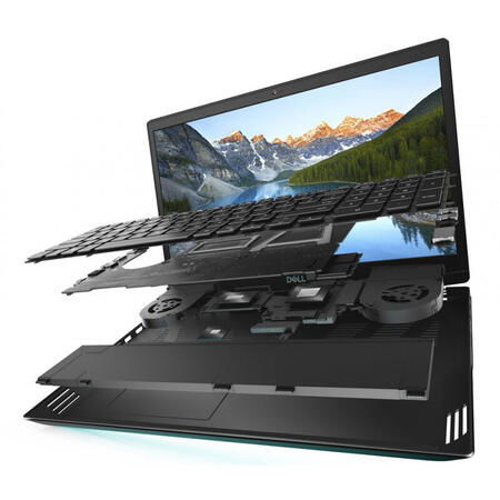 Laptop DELL Gaming 15.6'' G5 5500, FHD 144Hz, Intel Core i7-10750H, 16GB DDR4, 1TB SSD, GeForce RTX 2070 8GB, Win 10 Home, Interstellar Dark