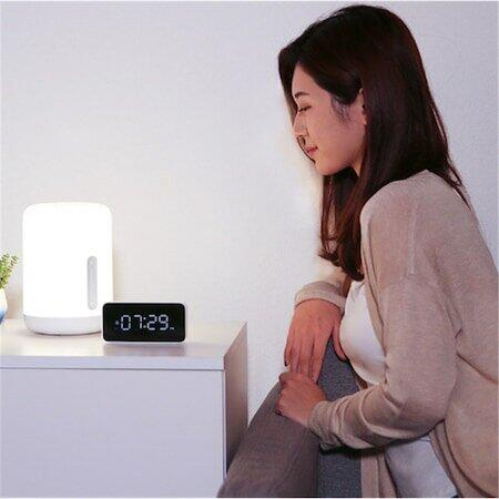 Lampa LED inteligenta Xiaomi Mi Bedside Lamp 2, Wi-Fi, 9W, 400 lm, compatibil Android/iOS