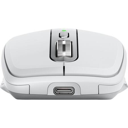 Mouse wireless Logitech MX Anywhere 3, 2.4GHz&Bluetooth, Scroll MagSpeed, Multidevice, USB-C, Gri