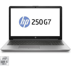"Laptop HP 15.6"" 250 G7, FHD, Intel Core i5-1035G1, 8GB DDR4, 512GB SSD, GMA UHD, Free DOS, Silver"