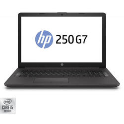 "Laptop HP 15.6"" 250 G7, FHD, Intel Core i5-1035G1, 8GB DDR4, 256GB SSD, GMA UHD, Free DOS, Dark Ash Silver"