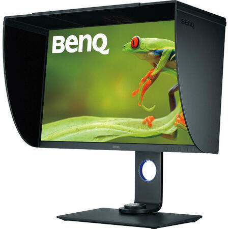 Monitor LED BenQ SW271 27 inch 4K 5 ms Gray USB C 60Hz