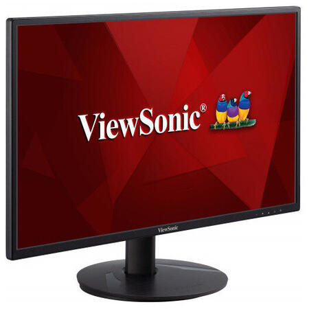 Monitor LED ViewSonic VA2418-SH 23.8 inch 5 ms Negru 75 Hz