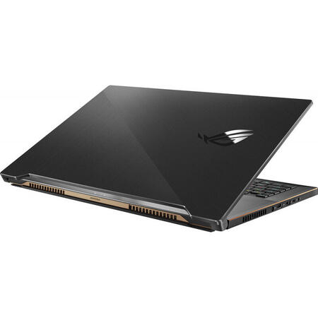 Laptop ASUS Gaming 17.3'' ROG Zephyrus S17 GX701LV, FHD 300Hz, Intel Core i7-10875H, 16GB DDR4, 1TB SSD, GeForce RTX 2060 6GB, Win 10 Home, Black