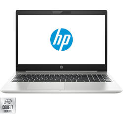 Laptop HP 15.6'' ProBook 450 G7, FHD, Intel Core i7-10510U, 8GB DDR4, 512GB SSD, GeForce MX250 2GB, Free DOS, Silver