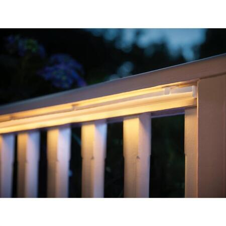 Banda LED RGBW pentru exterior Philips Hue, 37.5W, IP67, ZigBee Light Link