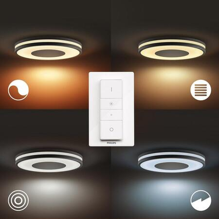 Plafoniera LED integrat Philips Hue, 27W (204W), 24V, IP20