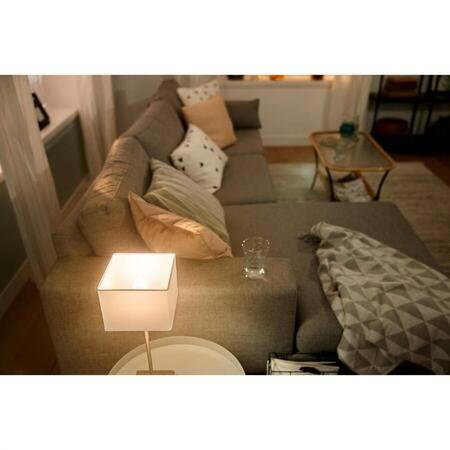 Set 2 becuri LED inteligente Philips Hue, Bluetooth/Wireless, lustra, P45, E14, 5.7W (40W)