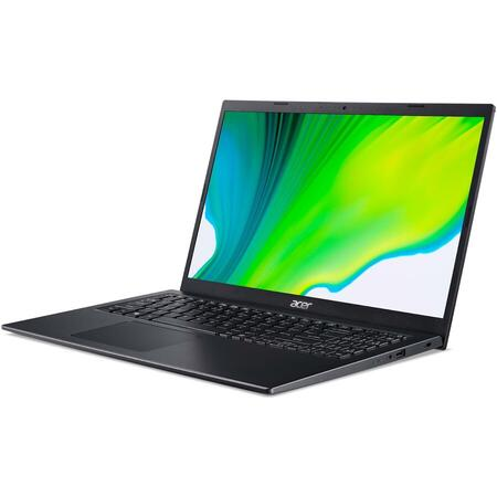 "Laptop Acer Aspire 5 A515-56 cu procesor Intel® Core™ i3-1115G4 pana la 4.10 GHz, 15.6"", Full HD, 8GB, 512GB SSD, Intel UHD Graphics, No OS, Black"