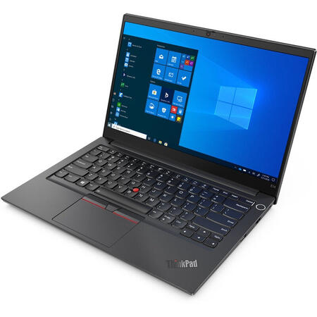 Laptop Lenovo 14'' ThinkPad E14 Gen 2, FHD IPS, Intel Core i7-1165G7, 16GB DDR4, 1TB SSD, Intel Iris Xe, No OS, Black