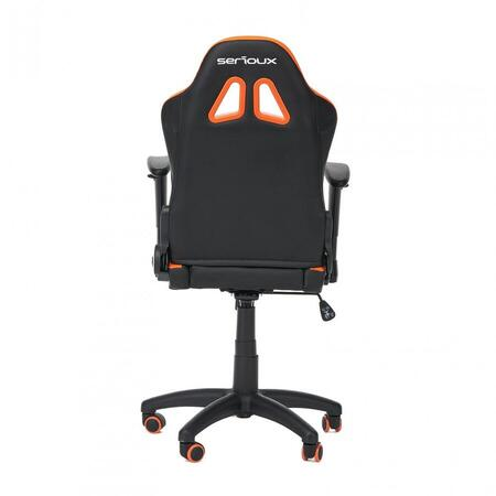 SCAUN GAMING SERIOUX KIDS ORANGE