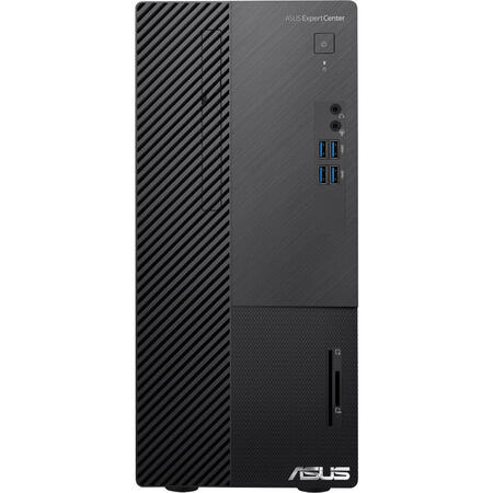 Sistem desktop ASUS ExpertCenter D5 MT D500MA, Intel Core i5-10400 2.9GHz Comet Lake, 8GB RAM, 512GB SSD, UHD 630, no OS
