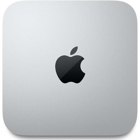 Mini Sistem PC Apple Mac mini, Procesor Apple M1, 16GB RAM, 1TB SSD, Mac OS, INT