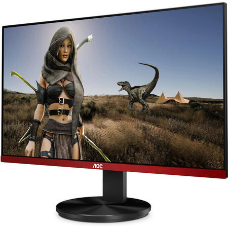 Monitor LED AOC Gaming G2490VXA 23.8 inch 1 ms Negru FreeSync Premium 144 Hz