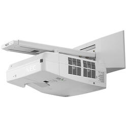 Videoproiector NEC UM301X, Ultra Short Throw, XGA 1024 x 768, 3000 lumeni, 10000:1, cadou modul Wireless LAN NEC NP05LM