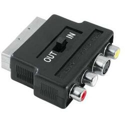 Altele Adaptor RCA-SCART IN/OUT
