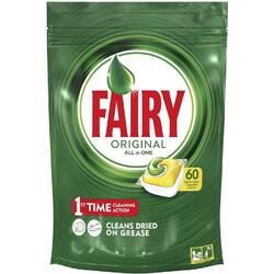 Detergent de vase capsule Fairy All in One 60 bucati