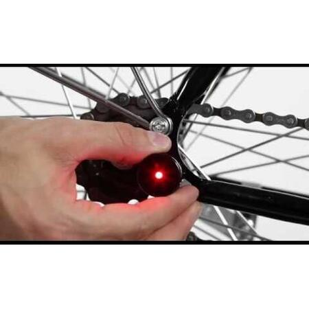 MAGNETIC BICYCLE LIGHT LUCETTA RED