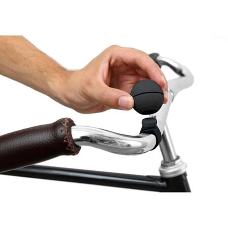 MAGNETIC BICYCLE BELL NELLO BLACK