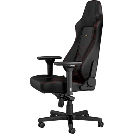 Scaun gaming Noblechairs HERO Real Leather Black/Red